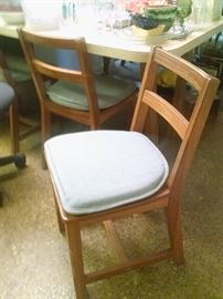 "Mid Century ""Cowboy Furniture"" Dining Chairs by Abraham Brandt 1 of 4"