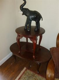 Coffee table and End table - Cool Elephant