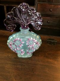 Exquisite perfume bottle hand painted