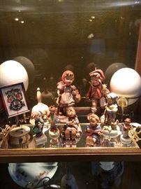 Assorted Hummel figurines 1980's