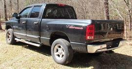 2005 DODGE RAM 4X4 PICKUP TRUCK