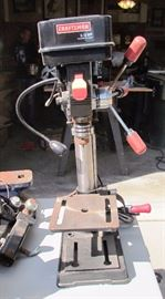 "Craftsman 10"" Drill Press with Laser"
