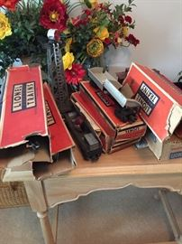 COLLECTION OF LIONEL TRAINS
