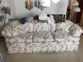 Nice clean comfy couch