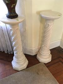 Pair of matching Decorative Columns