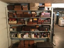 wood boxes, cigar boxes, jewelery boxes