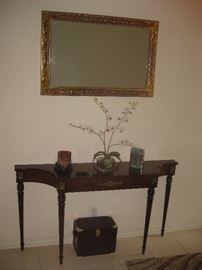 entry foyer table