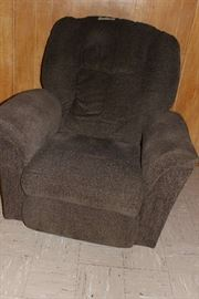 Comfy brown recliner, priced to sell.