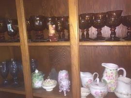 glassware and china!