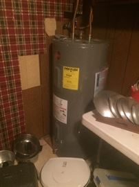 we can sell everything in and ON the house including the like new water heater