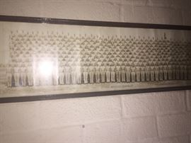 Panoramic photo of WW 2 Officer Candidate School