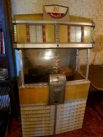 AMI Model E Jukebox with adapters for 45's