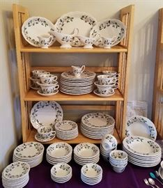 Great collection of Dogwood China--Hotel Roanoke