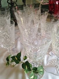 Waterford glasses - 2 sets of 12