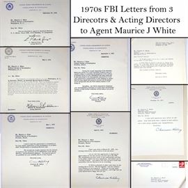 Ephemera FBI Letters