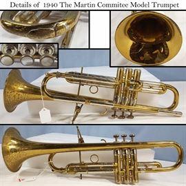 Instruments Martin Commitee Trumpet Lg Details