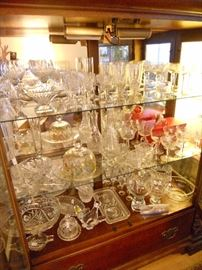 Crystal galore--some Waterford pieces