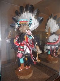 Kachina doll purchased in Arizona in the 70's or 80's--signed