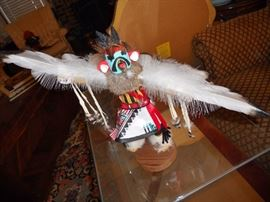 Eagle Dancer Kachina doll signed Margaret B.