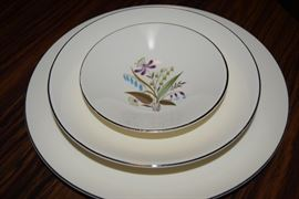 Knowles China Set- Chalet