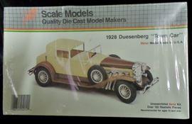 1928 Duesenberg Town Car Metal Kit by Hubley