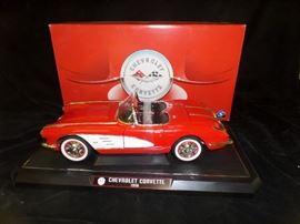 1958 Corvette Die Cast