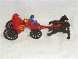 Cast Iron Fire Buggy