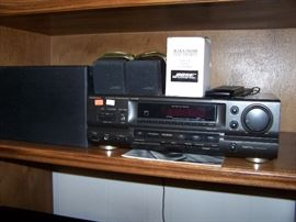 Technics stereo system with bose speakers - great sound
