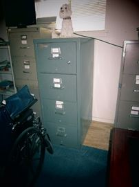 Mosler Fire Proof File Cabinet