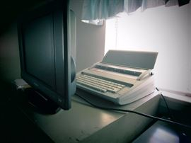 Television and Brother Typewriter