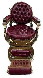 RF582 Restored E.Berninghaus Barber chair