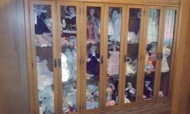 LARGE DOLL COLLECTION