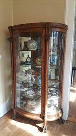 Tigers Oak Cabinet