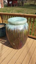 Extra extra large pottery fountain