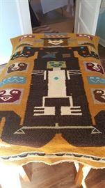 Native American weaved Rug