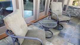 Swivel Rockers & Table