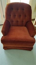 Orange Comfy Chair - $75