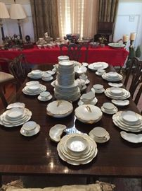 Limoges Silver Anniversary China
