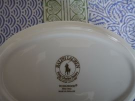 Ralph Lauren King Charles Paisley China, by Wedgewood