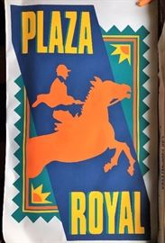 Large banner from the 80's - never used.  American Royal, Country Club Plaza, Kansas City