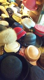 A lot of hats