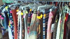 Clothes of all descriptions from sizes 2 to 10