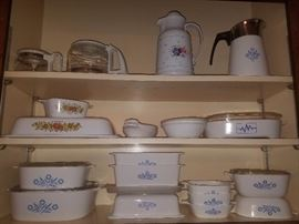 Cornflower Blue Pyrex/Corning, Spice of Life, & more