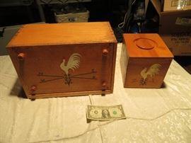 Bread Box and Cookie Box