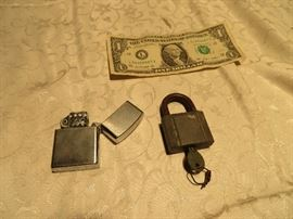 Lock and Lighter