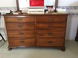 Solid cherry dresser by Thomasville
