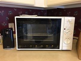 Countertop convection/microwave oven