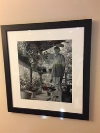 Great black and white signed numbered