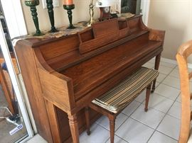 Piano only $325
