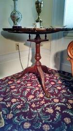 Baker tilt top tea table
